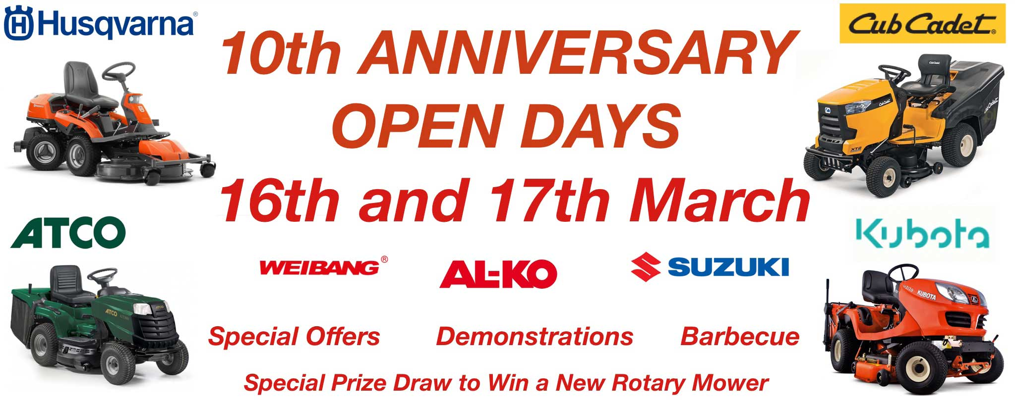 Hunts Engineering - 10th Anniversary Open Day