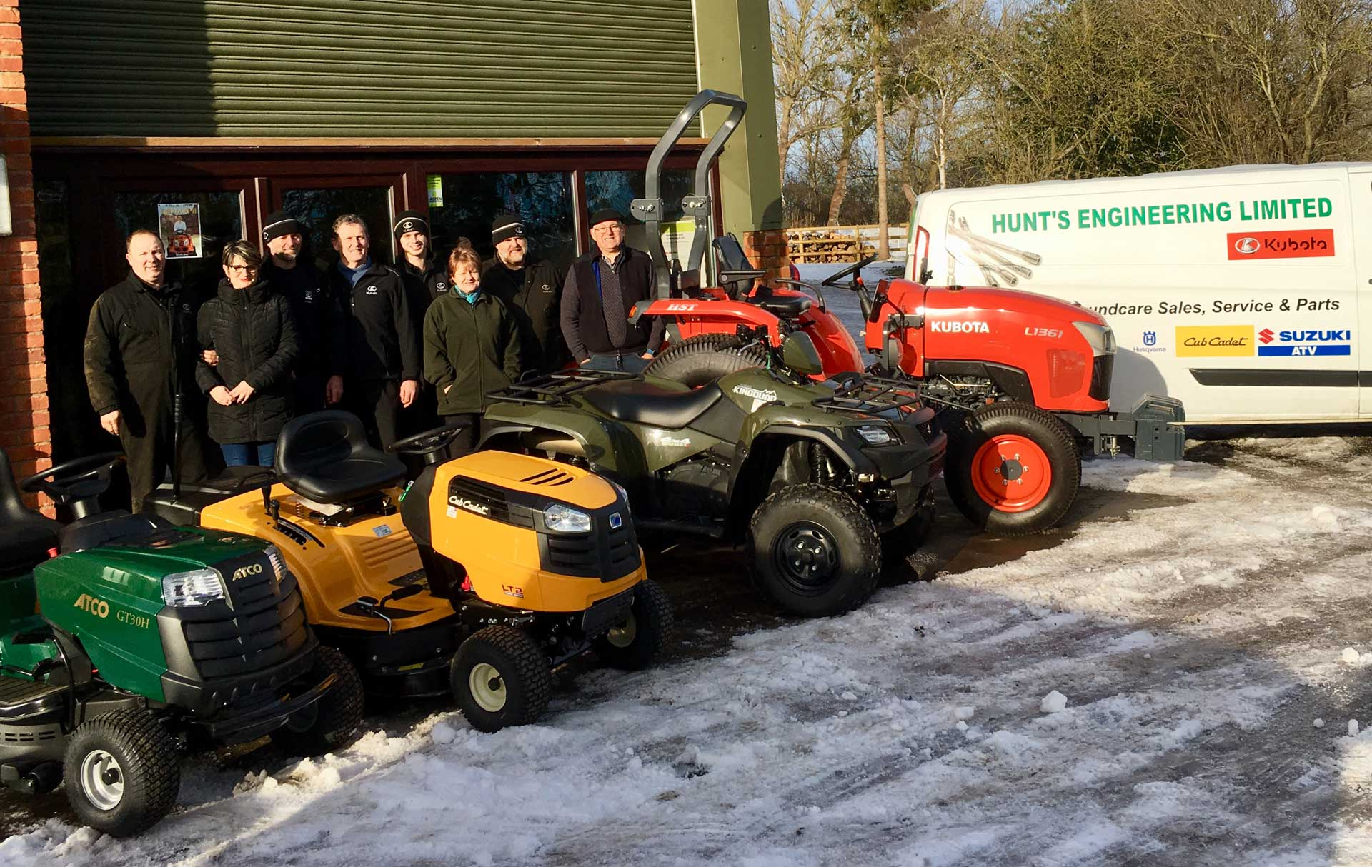 Hunts Engineering Ltd. Agricultural & Groundcare Sales, Service and Parts